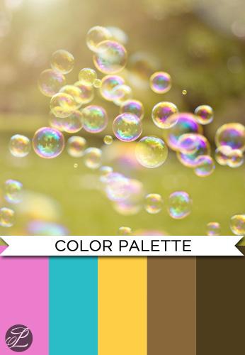 Bubbles Color Palette