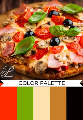 Pizza Color Palette