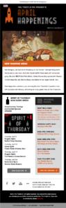 April Trestle Inn eNews