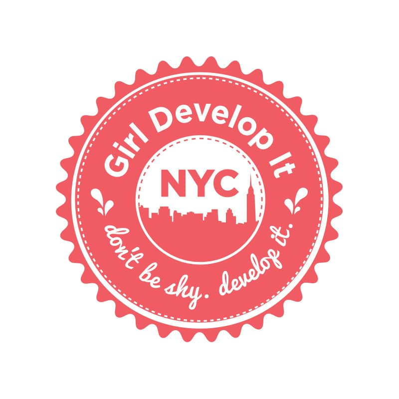 Girl Develop It NYC Logo